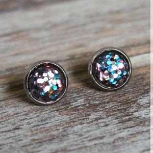 The Wild Bunch Confetti Stud Earrings